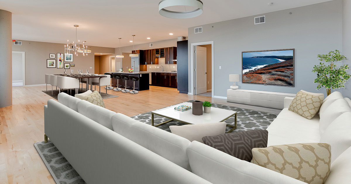 Minneapolis Mill District Condos for Sale - The Legacy Unit 1226