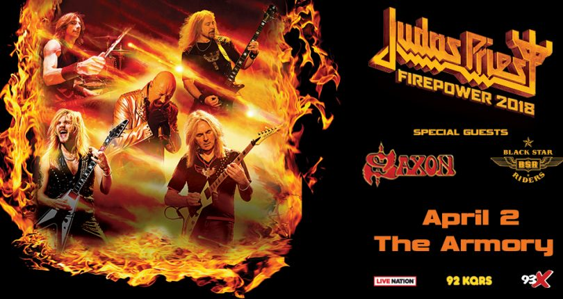 Judas Priest coming to The New ARMORY in Mpls