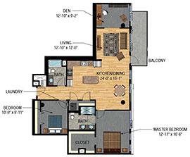 The Legacy Minneapolis Condos - Unit 1703