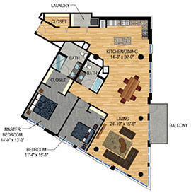 New Condos for Sale - The Legacy Minneapolis - Unit 601