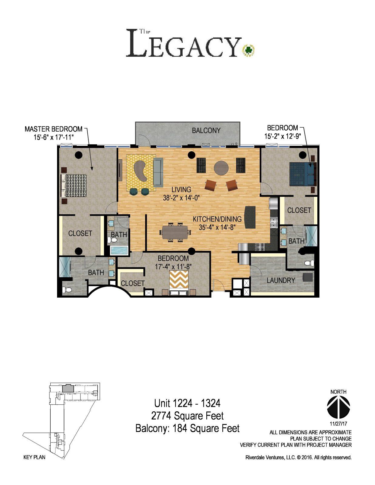 The Legacy Minneapolis - Unit 1224