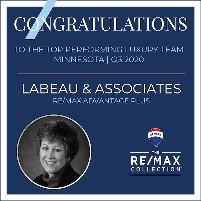 2020 Top Performing Luxury Team of Minnesota